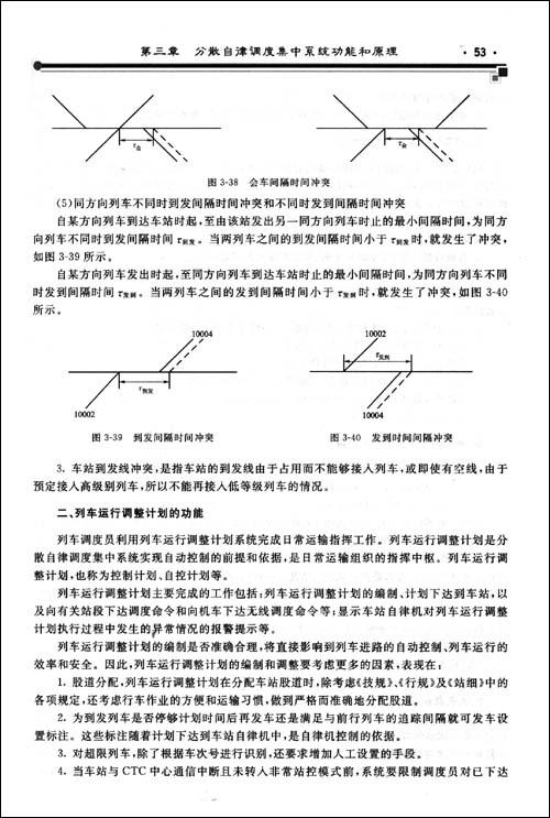 因此,列车运行调整计划的编制和调                    表现在: 1.