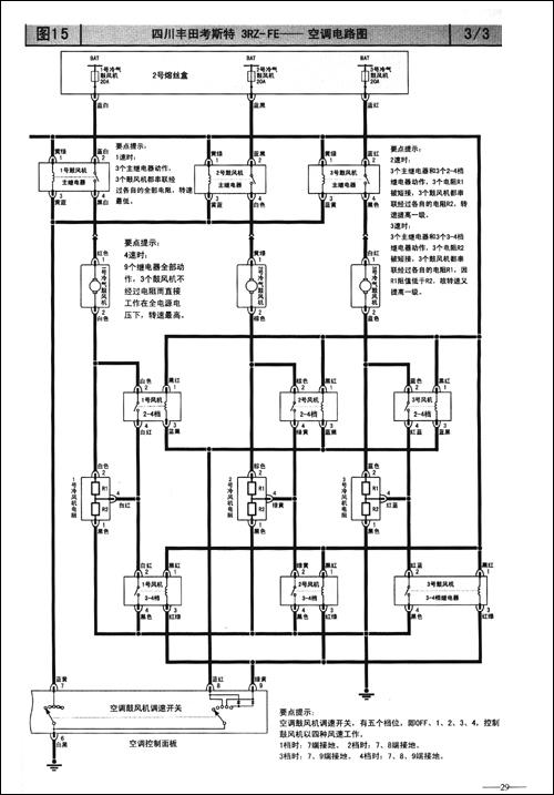 汽车空调电路图集:亚洲和国产分册
