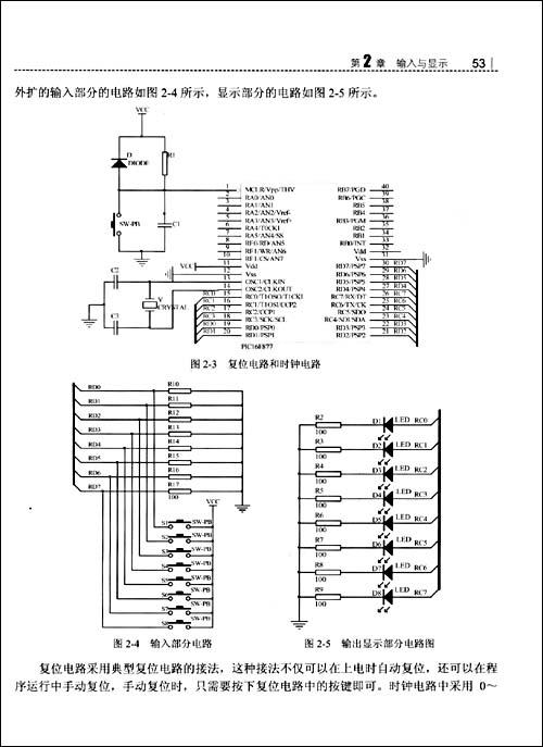 单片机系统的组成和典型的外围电路.
