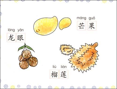幼儿简笔画 蔬菜水果