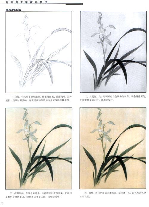俞致贞工笔花卉技法/俞致贞-图书-卓越亚马逊