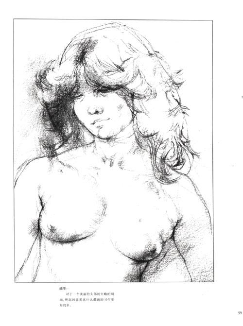 手绘 素描 线稿