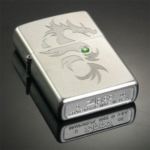 Zippo 24478 晶石龙 打火机