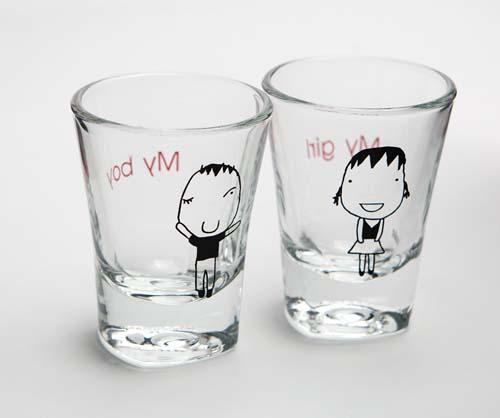 简单的文字,意义无穷   可爱的涂鸦,让生活中富有趣味性   杯子代表