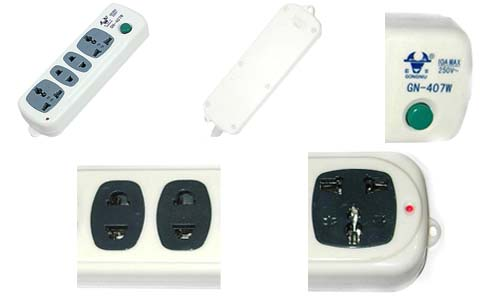 家庭室内多组插座接线图