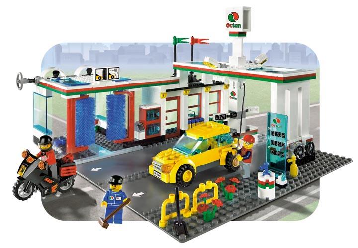 lego 乐高-汽车加油站7993