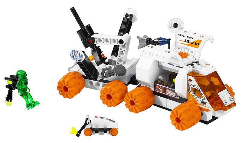 回至lego 乐高 火星探险系列 星球大战mt21地心采矿车7648