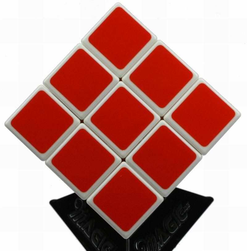 速转魔神 三阶魔方0932b标准 白底烤漆 比赛专用 赠攻略书 三角架