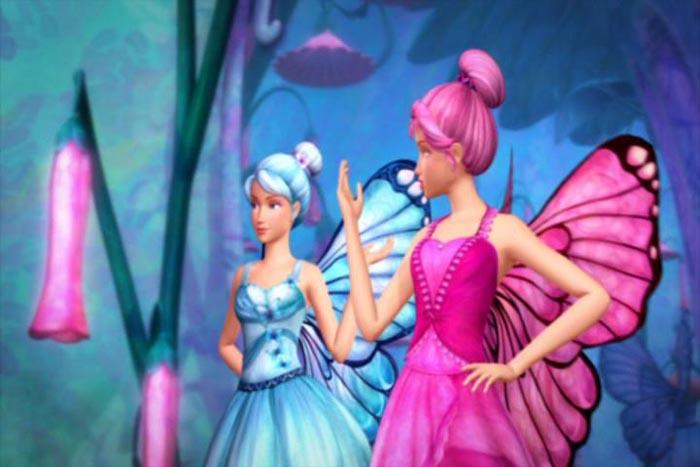 仙子幼儿简笔画动物画法   芭比蝴蝶仙子简笔画_芭比公主之高清图片