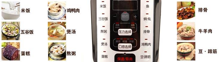 九阳电压力锅营养王系列jyy-50ys6ec(网络专供机)