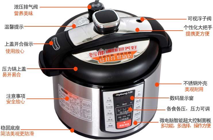九阳电压力锅50ys5(营养王系列)