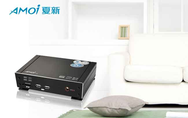 夏新v5 高清网络媒体播放器(黑色)
