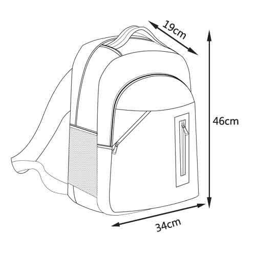 6寸笔记本电脑 中性 背包 双肩包 双肩电脑包 双肩背包 中性(防水尼龙