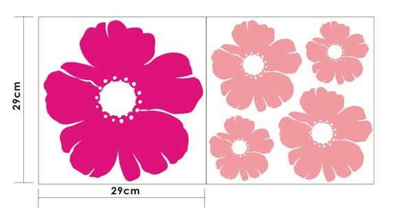 墙贴,装饰贴  墙贴  【emit墙贴】温馨花朵 efg087——采用高级拉膜