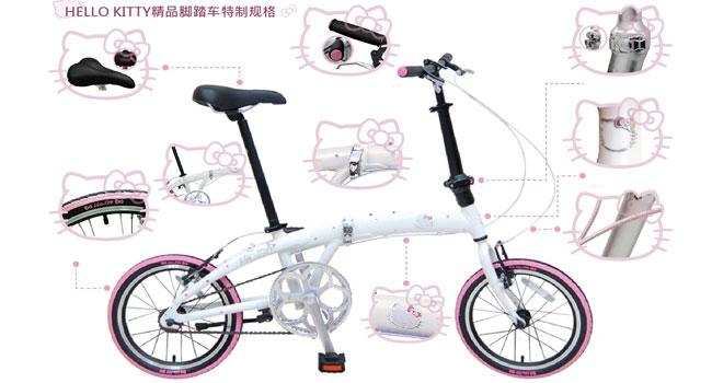 黑白自行车装饰变形设计画