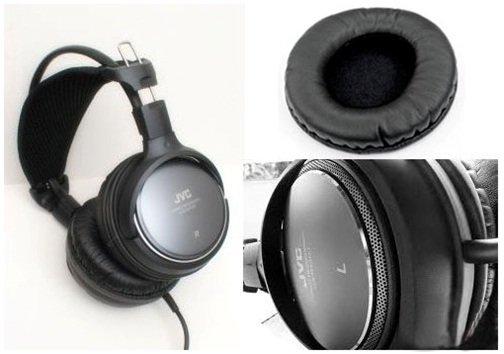 jvc强劲低音炮大耳机rx900(黑色)