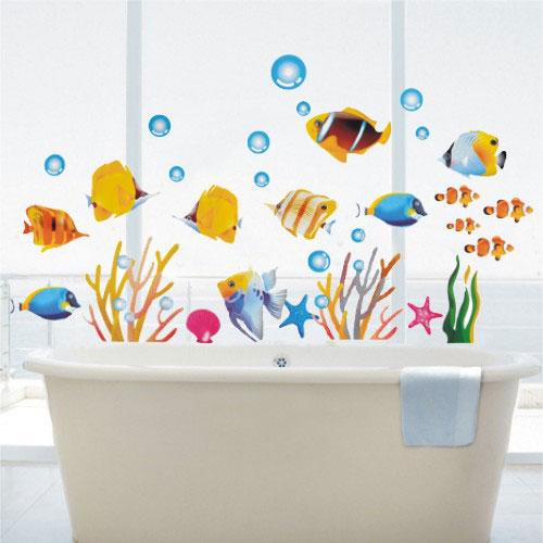 泡沫纸手工制作鱼