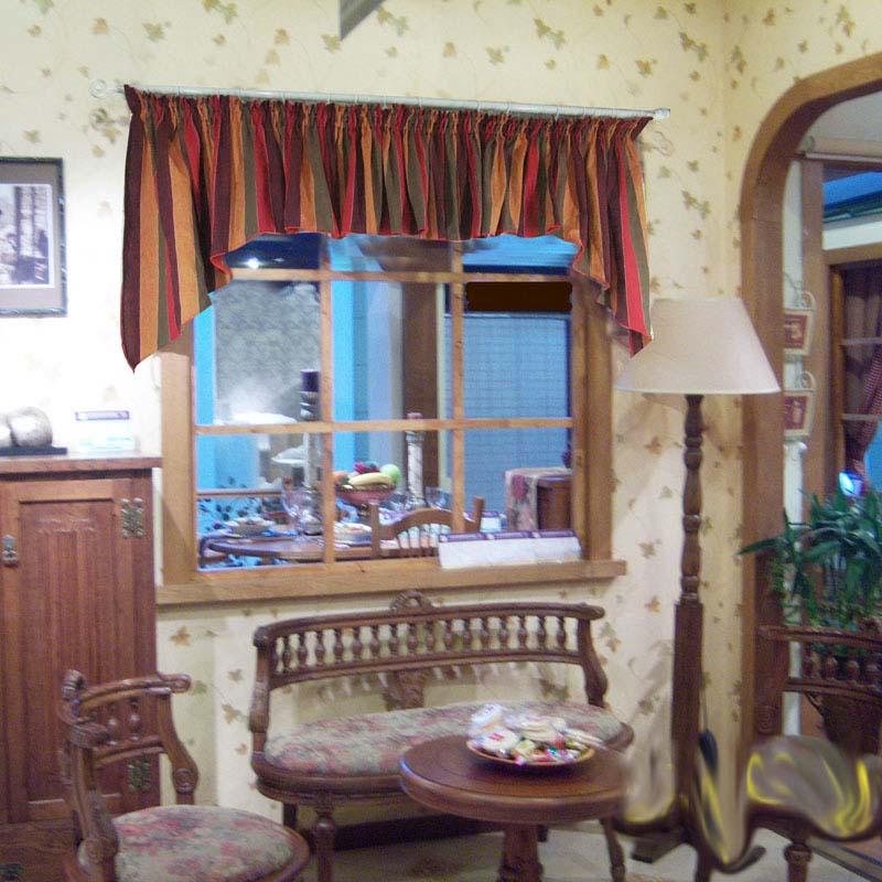 纯恋田园风格红尘有爱系列窗帘帘头窗幔2.1*0.9米