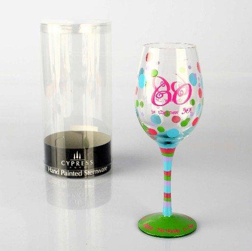 格林4件套欧式彩色手绘艺术酒杯套组3cwg127;玻璃