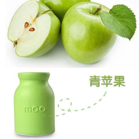 奶宝宝>固体香水-青苹果(绿色) 4,超级可爱设计,多种颜色及香型可
