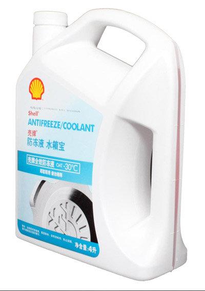 壳牌全效防冻液,防冻,防沸,防腐蚀,为汽车水箱或设备提供有效保护.