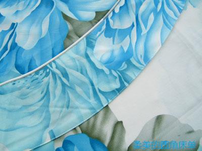 斜纹面料是指用斜纹组织结构对织物进行编织的方式,用斜纹组织结构