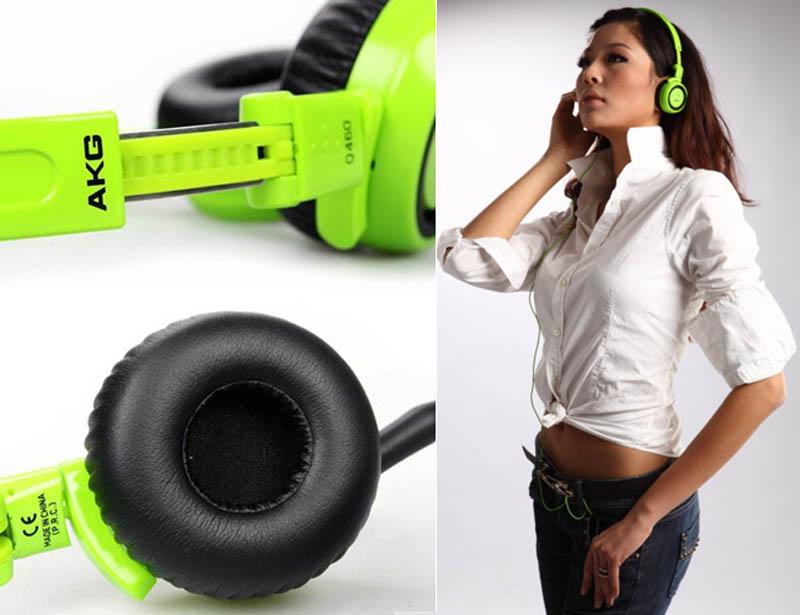 AKG Q460 昆西琼斯签名系列 可折叠头戴式耳麦耳机 .99 (约370元)