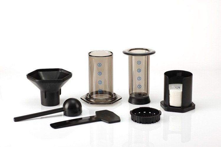 Aeropress 爱乐压 咖啡压滤器(方便速冲咖啡壶、赠350片滤纸)