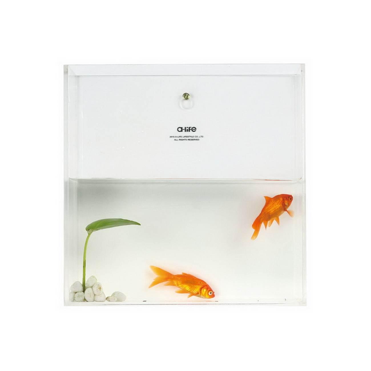 a-life 最生活悬挂式亚克力鱼缸方形 透明 c-1908