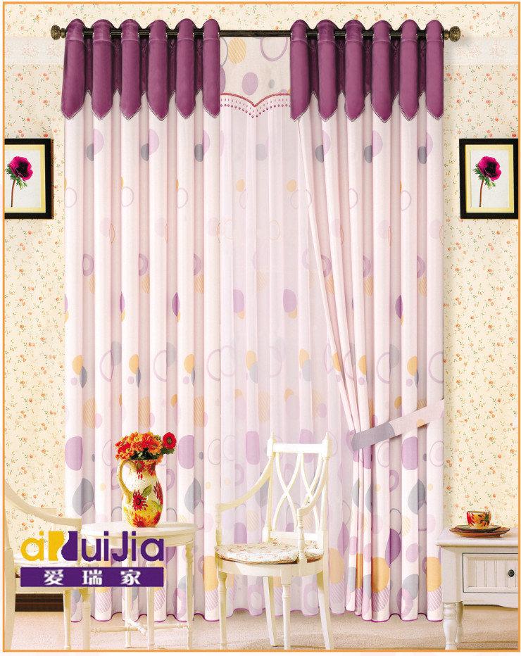 本款窗帘欧式风格,立体感强,适宜客厅,卧室等高档空间,别墅.