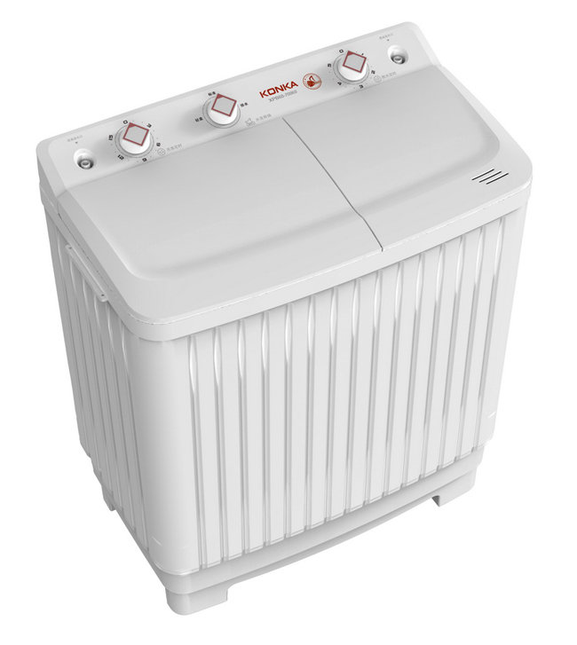 konka 康佳 6.0kg 双桶洗衣机xpb60-7006s
