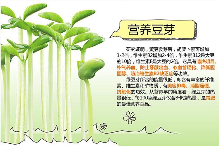亨王家用智能豆芽机jd-18-03