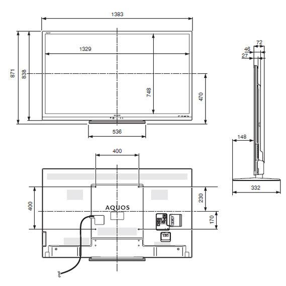 夏普lcd32ak7  电路图