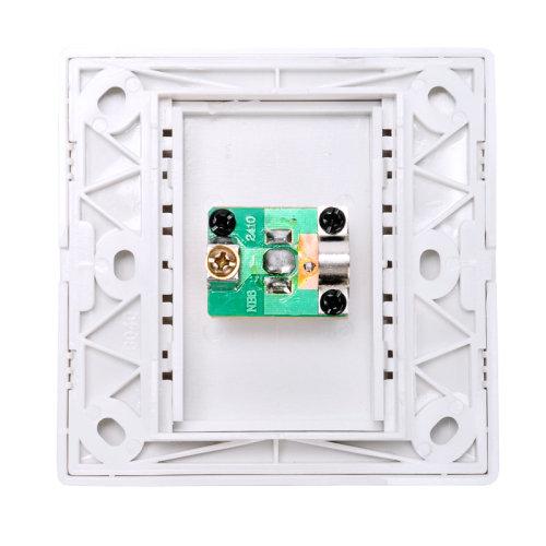 自制简易电视分线器电路
