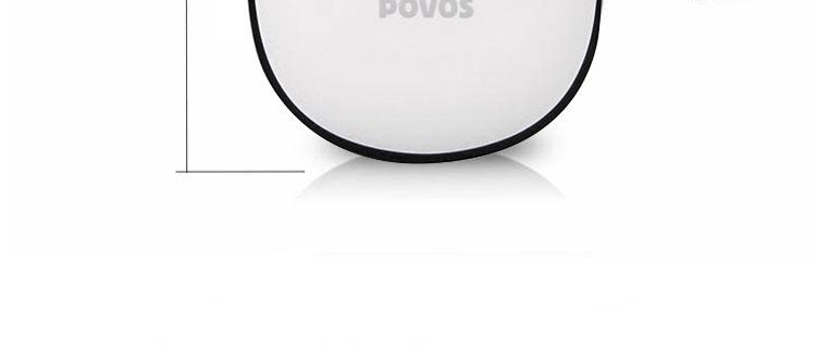 povos奔腾pq7536旋转式电动剃须刀(独立浮动双刀头 式
