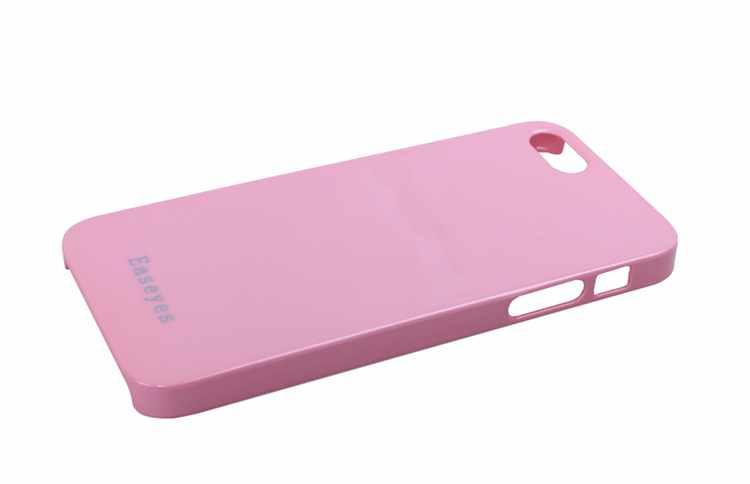 爱易思 苹果 iphone 5 炫彩手机保护壳(粉色)
