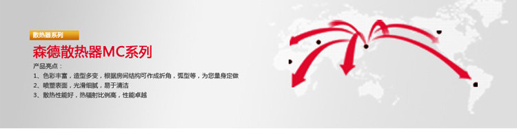 森德无限mc系列钢制散热器暖气片2060白色(厂商带货直送,限北京)