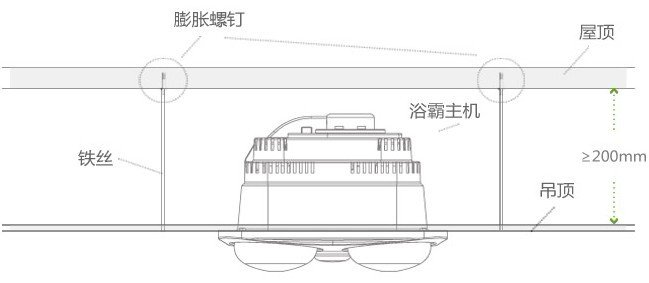 aupu 奥普灯暖型浴霸 fdp310c