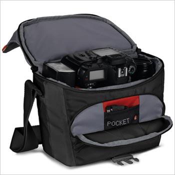 Manfrotto 曼富图 MB SSB-6BB BELLA VI单肩包(6号-黑) 160元(券后100元包邮)