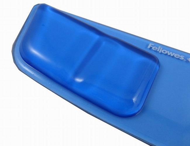 水晶硅胶键盘托(冰晶蓝)