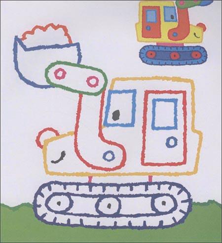 来自比利时的趣味涂色书:小手涂色
