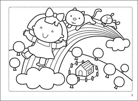 纸飞机  放牛娃  美丽的城市  狮子的美餐  可爱的手指小人  海底