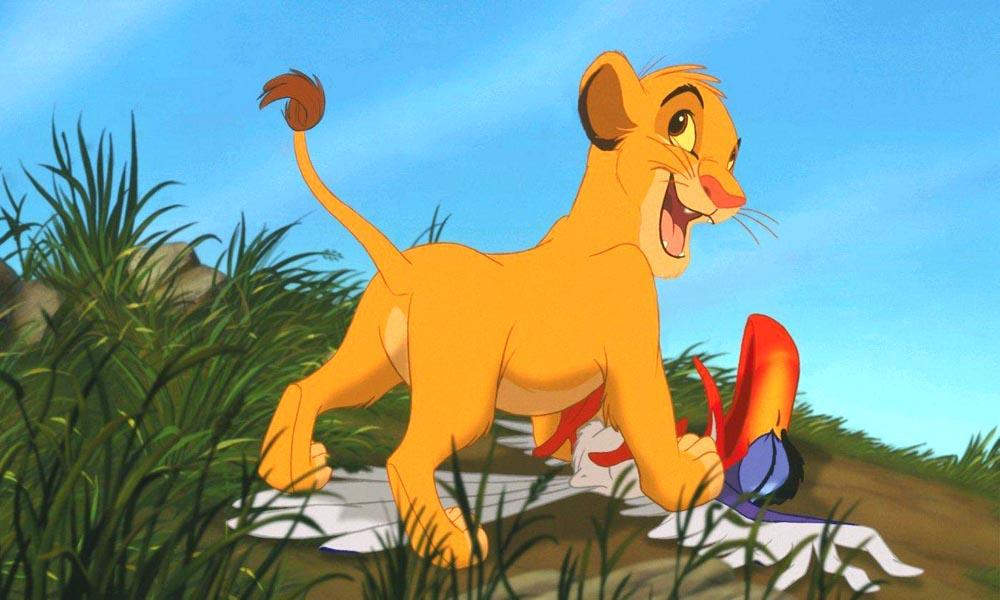 狮子王电影剧照; 狮子王辛巴大图; 辛巴重返荣耀国,留下狮子王的