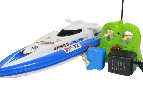 环奇951 可充电无线遥控快艇(蓝色):亚马逊:玩具