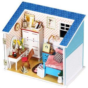 芭比手工制作房子