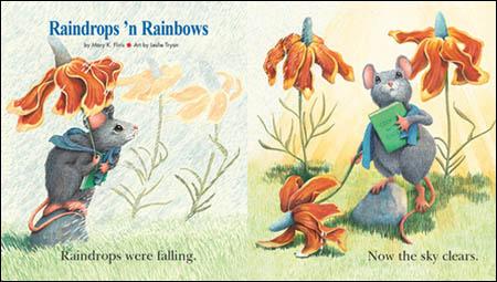 原版幼儿绘本,简单有趣的故事,朗朗上口的歌谣,精美的手绘图!