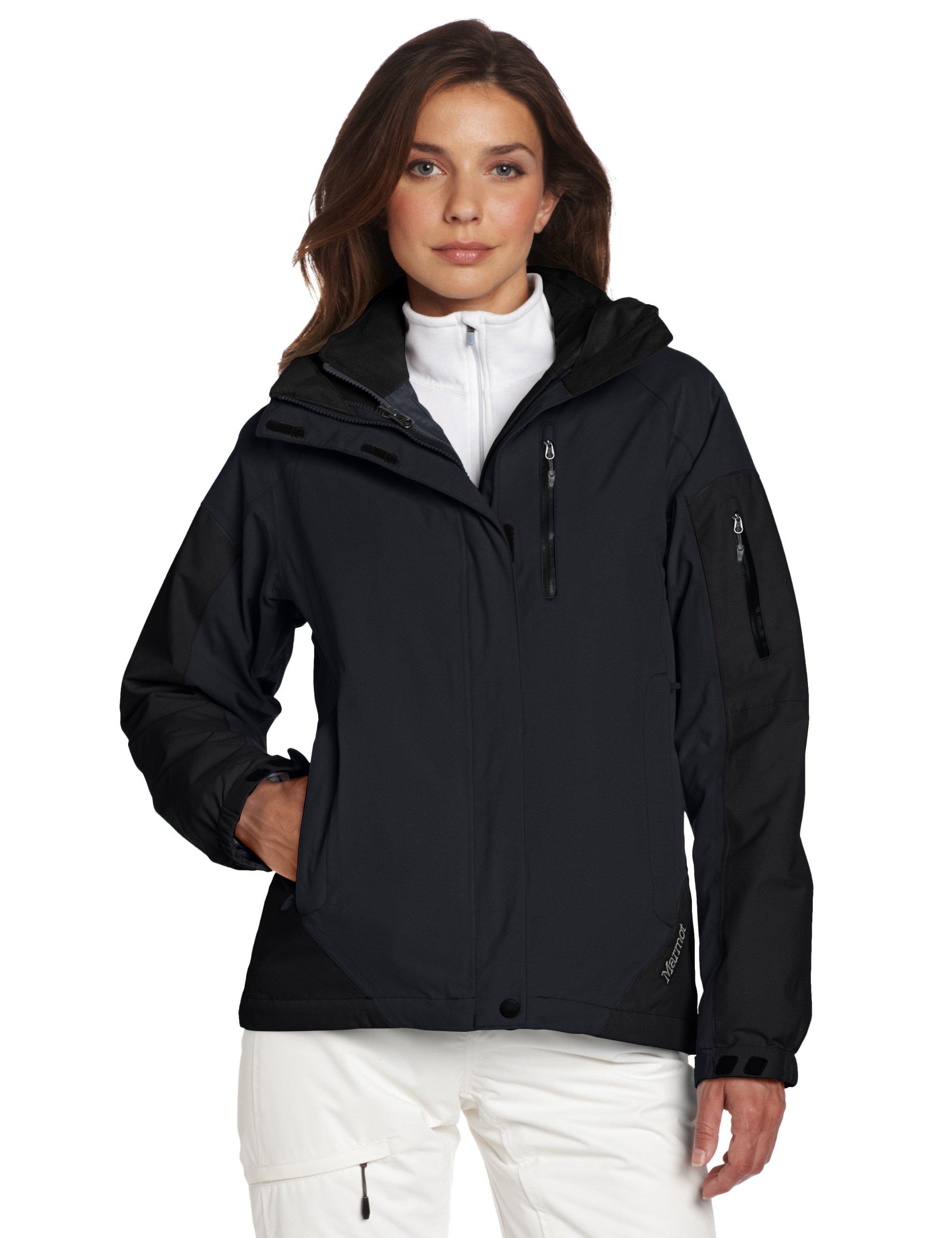 亚马逊美国_Marmot土拨鼠 Women's Tamarack Component Jacket女款三合一冲锋衣